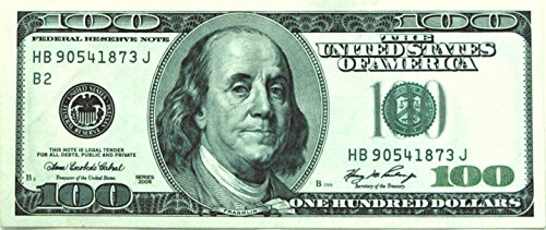 SAFE Currency Holders Heavyweight for US Currency - Pack of 100