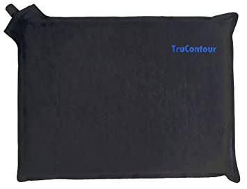 Self Inflatable Seat Cushion Perfect For Airplane Travel Stadiums Bleachers Theater Seats Easy