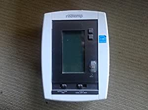 Ritetemp 6036 Flush Mount Programmable Touch Screen Thermostat