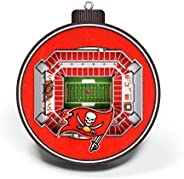 NFL Tampa Bay Buccaneers - Raymond James Stadium 3D StadiumView Ornament3D StadiumView Ornament, Team Colors,
