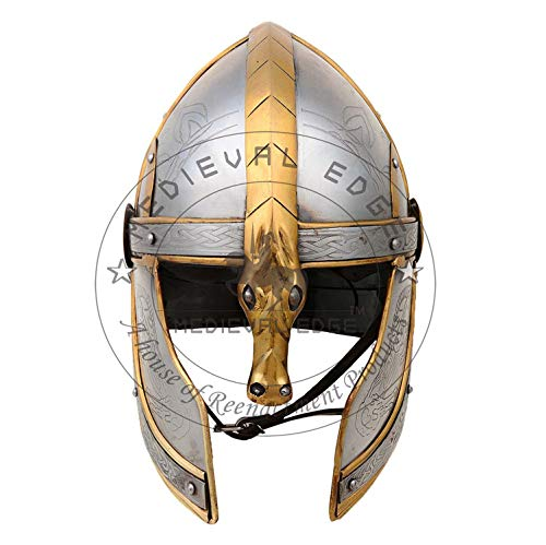 Lord of The Ring Eomer Helmet Medieval Armour Costume
