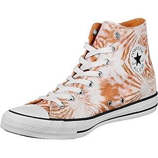 Converse CTAS HI Mens Fashion-Sneakers 160511C_7.5 - Tangelo/White/Black
