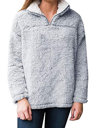 Best Fluffy Quarter Zip Pullover For 2019 Bestbump Info
