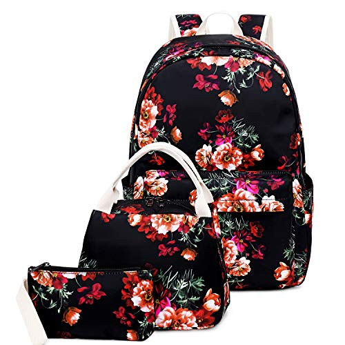 Backpack for Girl, FLYMEI School Backpack for Teens, 15.6