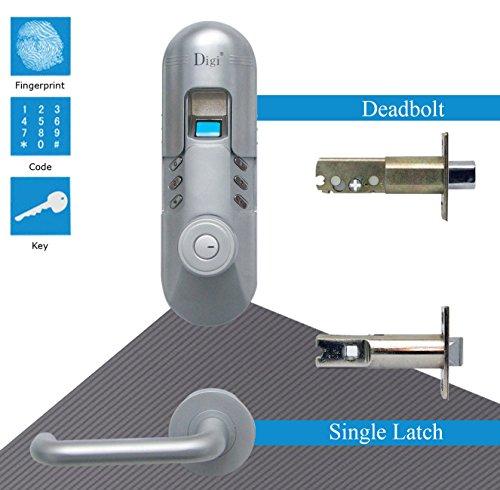 Digi Keyless Keypad Fingerprint Door Lock Deadbolt