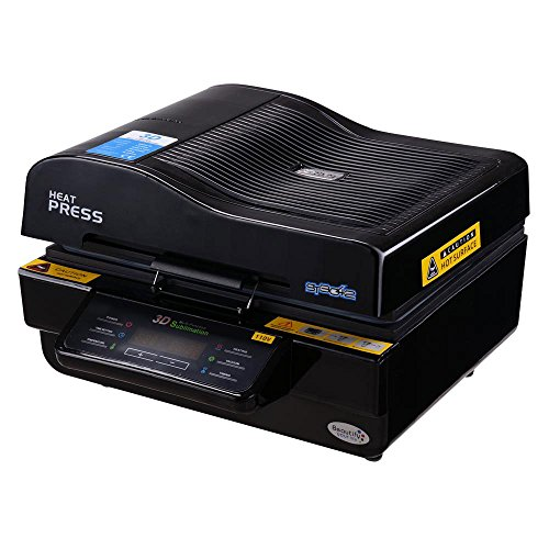 3D Multifunction Heat Press Machine High Intelligent Vacuum Transfer Sublimation Printing Printer by Yescom