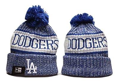 Lucassey 2019 New Fans Beanie Hat Sideline Sport Knit Winter Pom Knit Cap
