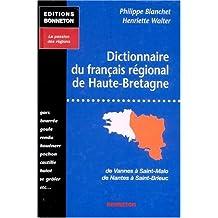Dictionnaire du français régional de haute-bretagne