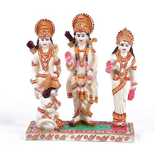 - Indian Handicrafts Export Beautiful Menna Work Ram Darbar