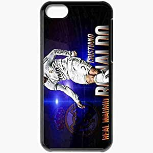 Personalized iPhone 6 4.7 Cell phone Case/Cover Skin Cristiano ronaldo real madrid Black