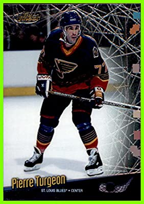 1998-99 Finest No Protectors #125 Pierre Turgeon ST. LOUIS BLUES