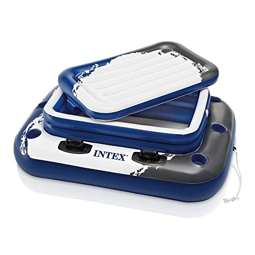 (Intex Mega Chill II, Inflatable Floating Cooler, 48