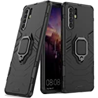 Huawei P30 Pro Case with Kickstand and Hybrid Drop Protection Holder Stand Case Cover for Huawei P30 Pro, Black
