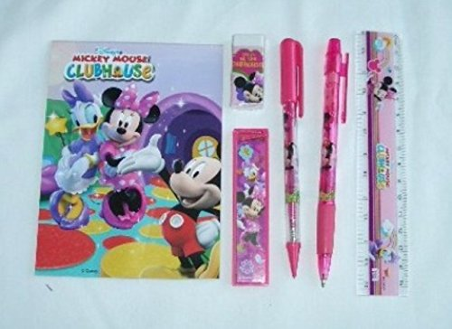 12 Sets of Disney Mickey Mouse /& Friends Stationery Set Children Party Favors Bag Filler itisyours