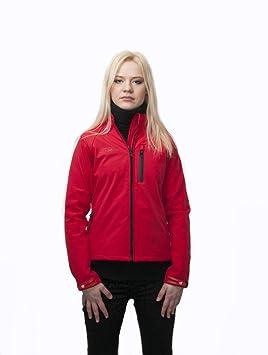 Amazon.es: KENROD Chaqueta mujer de neopreno  Deportiva y casual  Color rojo Talla M
