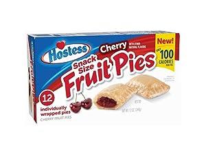 Hostess Snack Size Fruit Pies 12oz (Cherry)