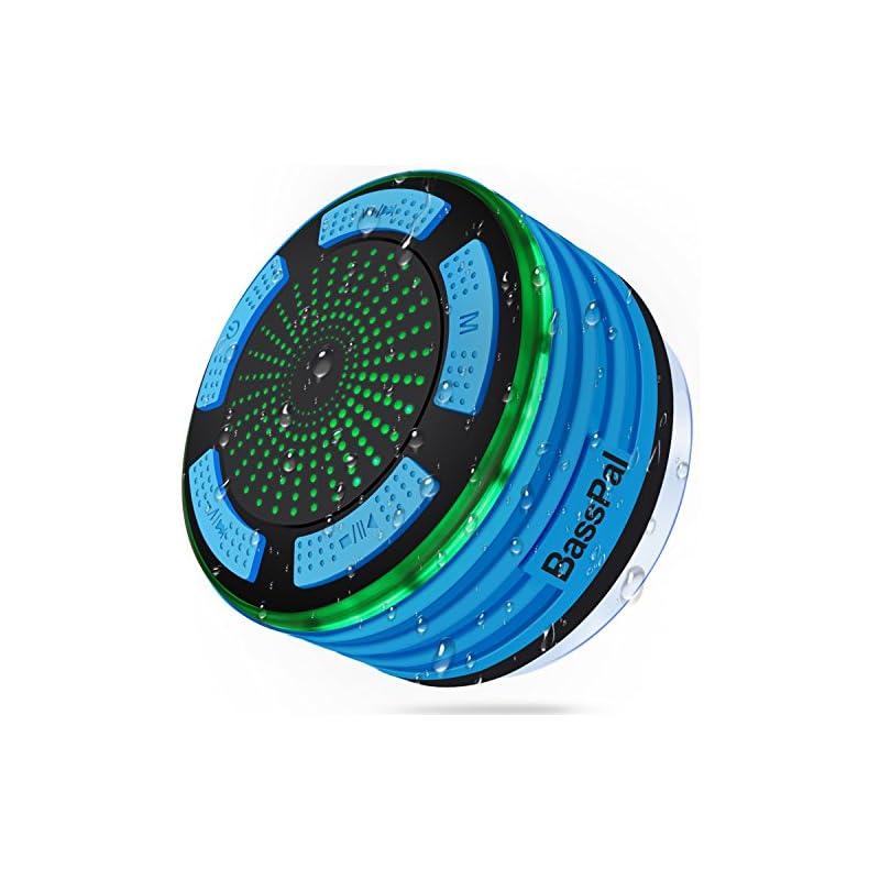 BassPal Shower Radios, IPX7 Waterproof P