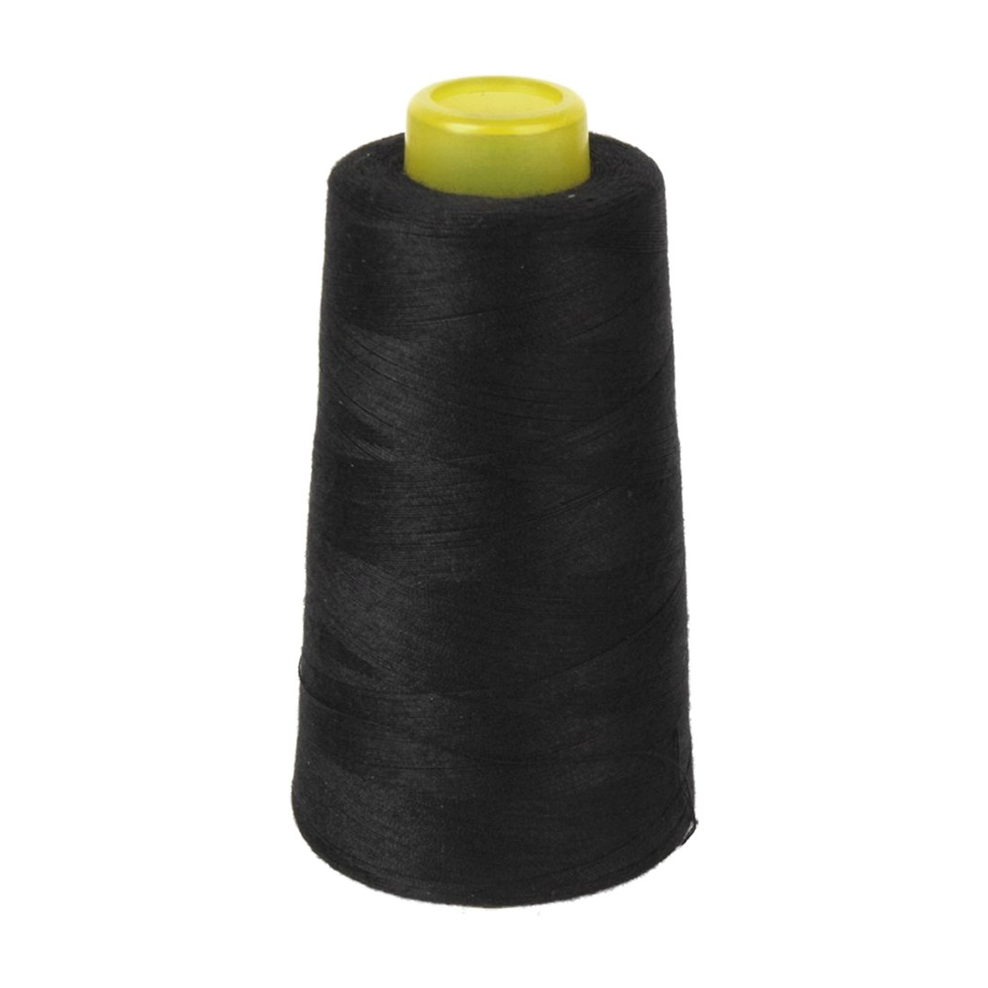 SODIAL Cotton Sewing Thread for Sewing Machine 40S / 2 Unbleached (Black)