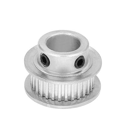 ALCOMPRA Aluminio MXL 30 Dientes 10mm Bore Correa dentada ...