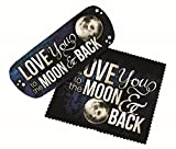 Kyпить Spoontiques Eyeglass Case with Lens Cloth (I Love You to the Moon) на Amazon.com