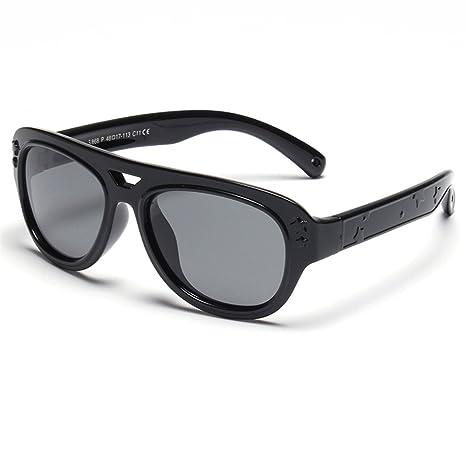 Gafas de Sol polarizadas para Niños Protección UV Estrellas Decoración  Niños y Niñas de 3 a 94ad0207e2