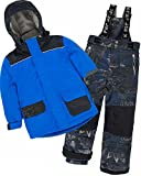 Deux par Deux Boys' 2-Piece Snowsuit Hey Mr DJ Blue, Sizes 4-14 - 12
