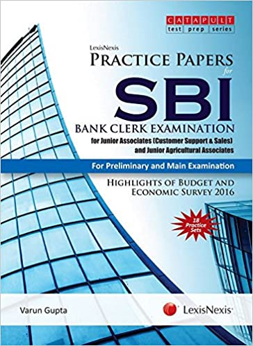 buy lexisnexis practice papers for sbi bank clerk examination for junior associates customer support sales and junior agricultural associates for