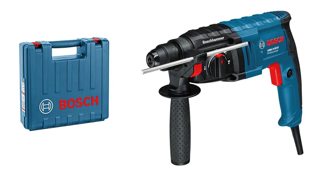 Bosch 061125A400 GBH 2-20 D Martello Perforatore con Attacco SDS-Plus, 240 V, Blu, 650 Watt product image