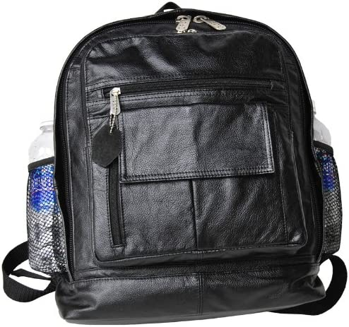 Full-sized Leather Backpack 1515-02