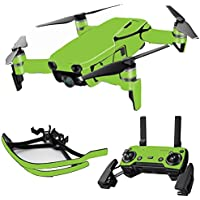 MightySkins Skin for DJI Mavic Air Drone - Solid Lime Green | Max Combo Protective, Durable, and Unique Vinyl Decal wrap cover | Easy To Apply, Remove, and Change Styles | Made in the USA