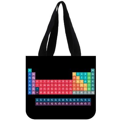 1d10d480c44b Amazon.com: COL DOM Tote Bag Custom periodic table of kink Tote Bag ...