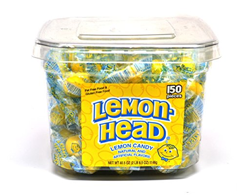 Lemonheads 150 Count Container - 1 Unit