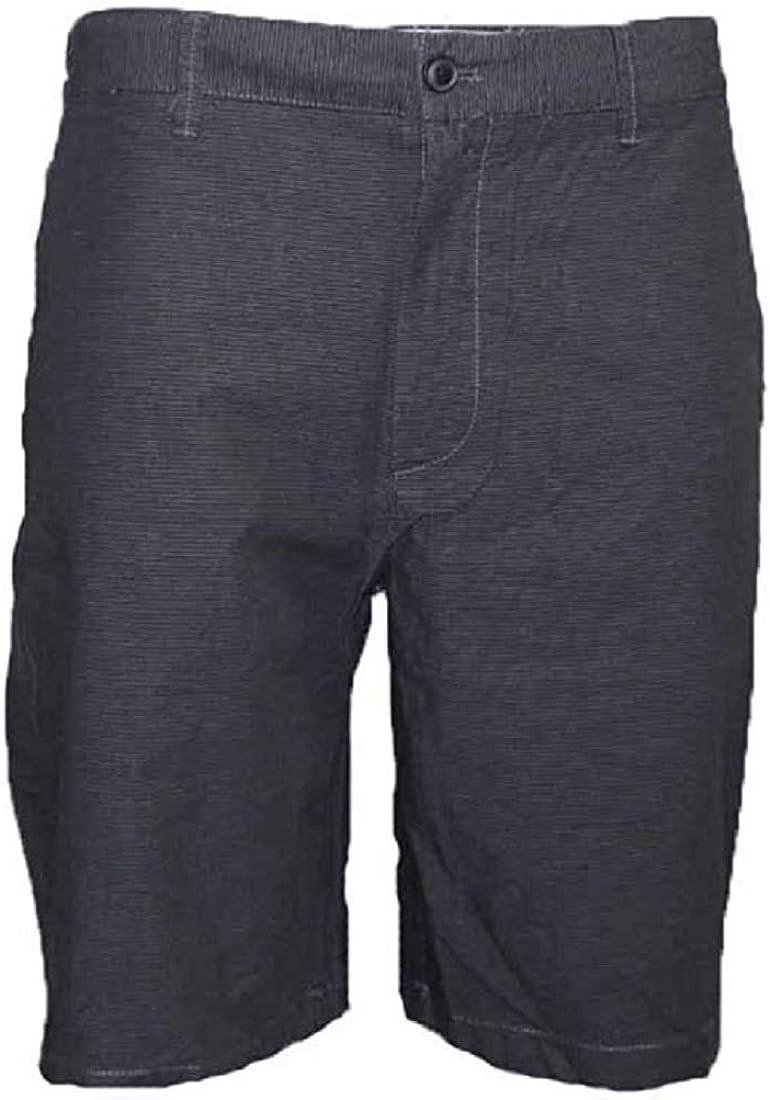 048 Grey English Laundry Mens Arrogant Walking Plaid Shorts Size 36
