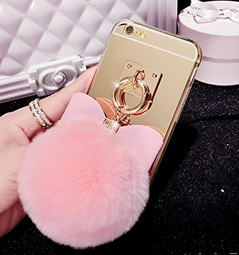 size 40 fbbba 5b1e6 Amazon.com: iPhone SE Case,iPhone 5S/5 Case, Pink Glitter Bling ...