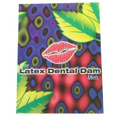 Trustex Dental Dam Mint (Trustex Mint Flavored Condoms)