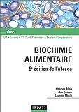 Image de Abrégé de biochimie alimentaire
