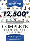 Royalty Free Complete Premium Art Collection - Platinum Edition: Top-Quality ClipArt To Make Your Scrapbook Designs, Invitations and Other Projects SPECIAL!! (for PC) [Download]