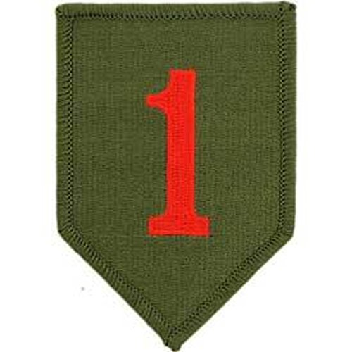 Patch-Army,001ST Inf.DIV. (3.5'') ()