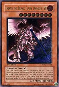 Amazon Com Yu Gi Oh Horus The Black Flame Dragon Lv8