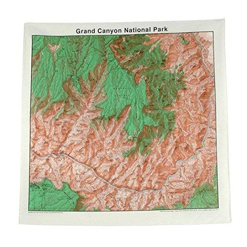Grand Canyon Nat Park Topo - Ban Image