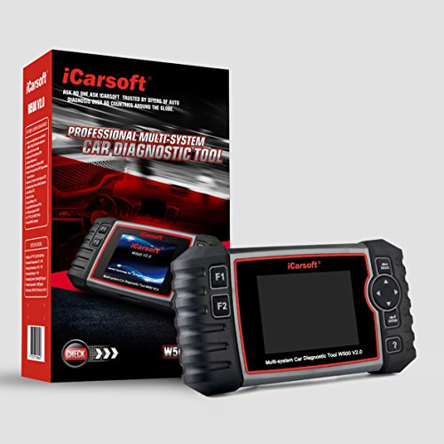 iCarsoft Auto Diagnostic Scanner W500 V2.0 for Audi/VW/Seat/Skoda with ABS Scan,Oil Service Reset ect by iCarsoft (Image #2)