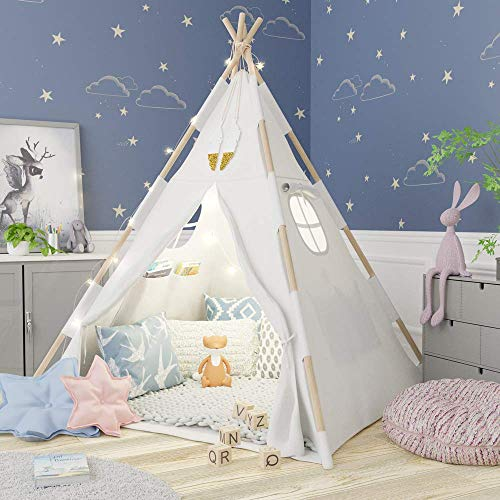 TazzToys Kids Teepee Tent