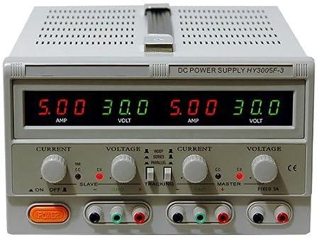 Mastech HY3005F-3 Triple Linear DC Power Supply(30V, 5A
