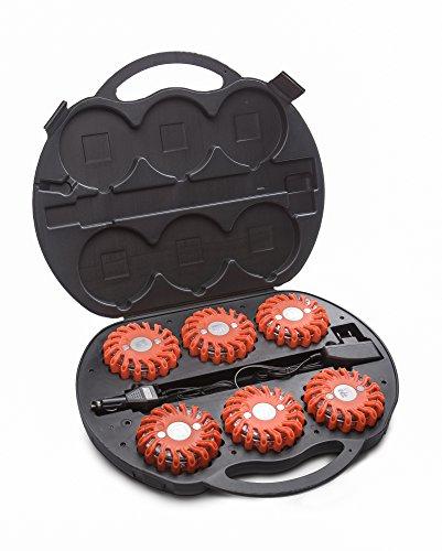 Mactronic professionelle Tasche für 6 x Signal Disc, schwarz