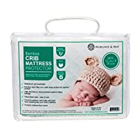 Ultra Soft Waterproof Crib Mattress Protector Pad From Bamboo Rayon Fiber by ...