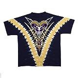 St. Louis Rams Logo V Tie Dye T-shirt