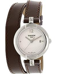 Tissot Women's T-Trend T084.210.16.017.03 Brown Leather Swiss Quartz Watch