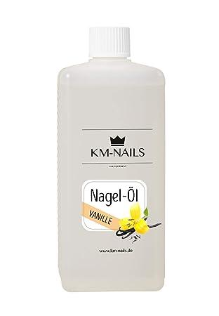 KM de Nails nagelöl Vainilla schote Super Aroma & Cuidado 500 ml
