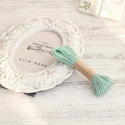 Jammas New 10 Meters/lot Colorful DIY Manual Novel Hemp Twine Rope String Gift Box Cord Wedding Tags Decoration Wrap Decor 15 Colors - (Color: Tiffany Blue)