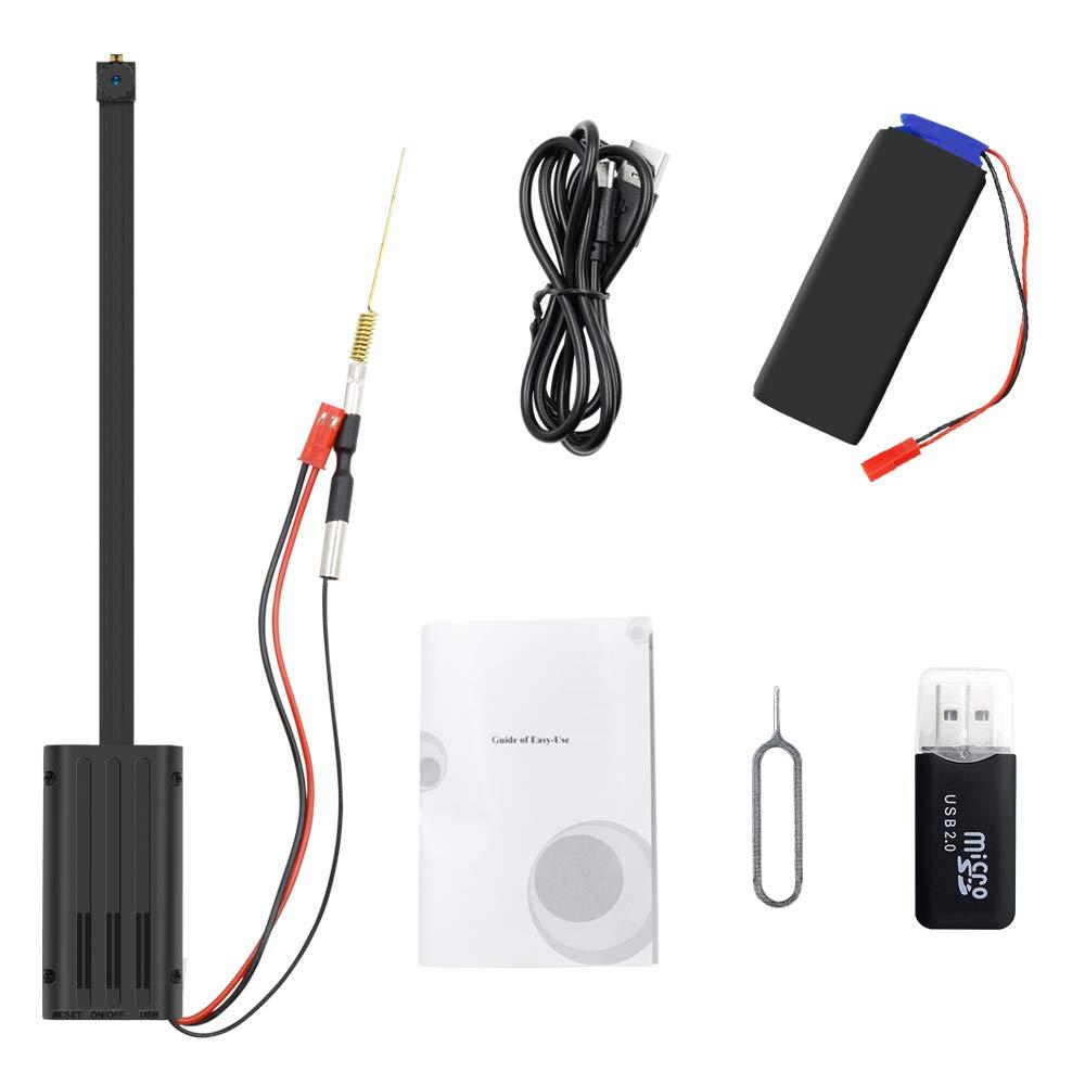 Mini C/ámara WiFi UYIKOO 1080p Mini C/ámara Esp/ía WiFi C/ámara Oculta Peque/ña C/ámara Inal/ámbrica p2p C/ámara de Seguridad Dom/éstica con Detecci/ón de Movimiento /& Grabaci/ón de Bucle
